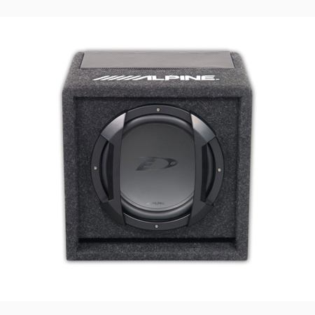 alpine swe 815 swe 815 8 20cm amplified subwoofer box. Black Bedroom Furniture Sets. Home Design Ideas